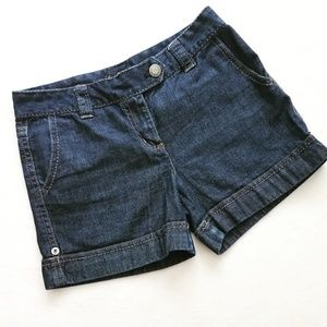 ANN TAYLOR modern fit denim shorts